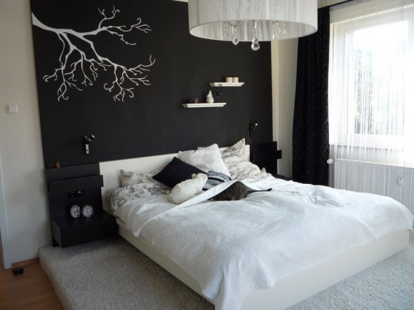 Raumgestaltung Mit Tapeten Schlafzimmer : Schlafzimmer Tapeten 3 Pictures to pin on Pinterest