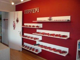 Hobbyraum 'Ferrarizimmer'