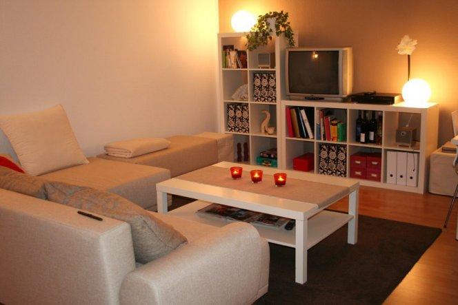 Wohnzimmer mein kleines reich von jola 441 zimmerschau - Wohn schlafzimmer gestalten ...