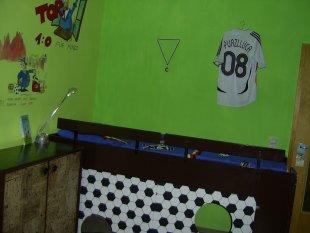 Luca´s Fussballzimmer