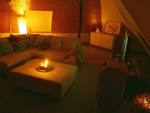 Wohnzimmer 'Dachstudio Gästezimmer Zweitwohnzimmer' - Altes