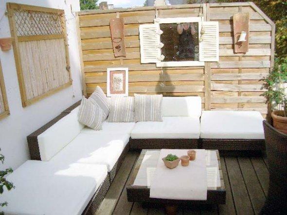 terrasse balkon 39 terrasse neu 39 altes domizil. Black Bedroom Furniture Sets. Home Design Ideas