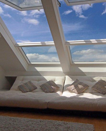Wohnzimmer Chillen Unterm Dach