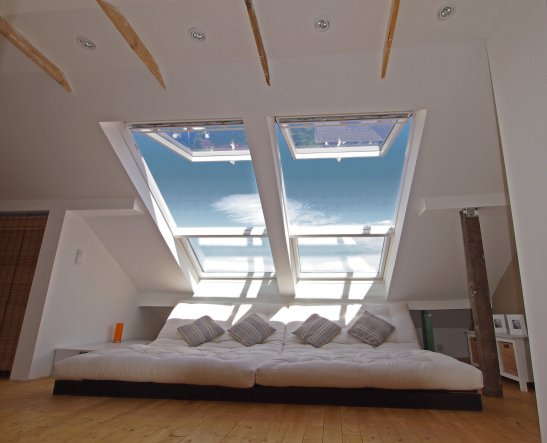 wundersam wohnideen schlafzimmer unter dem dach ausstellung - Wohnideen Unterm Dach