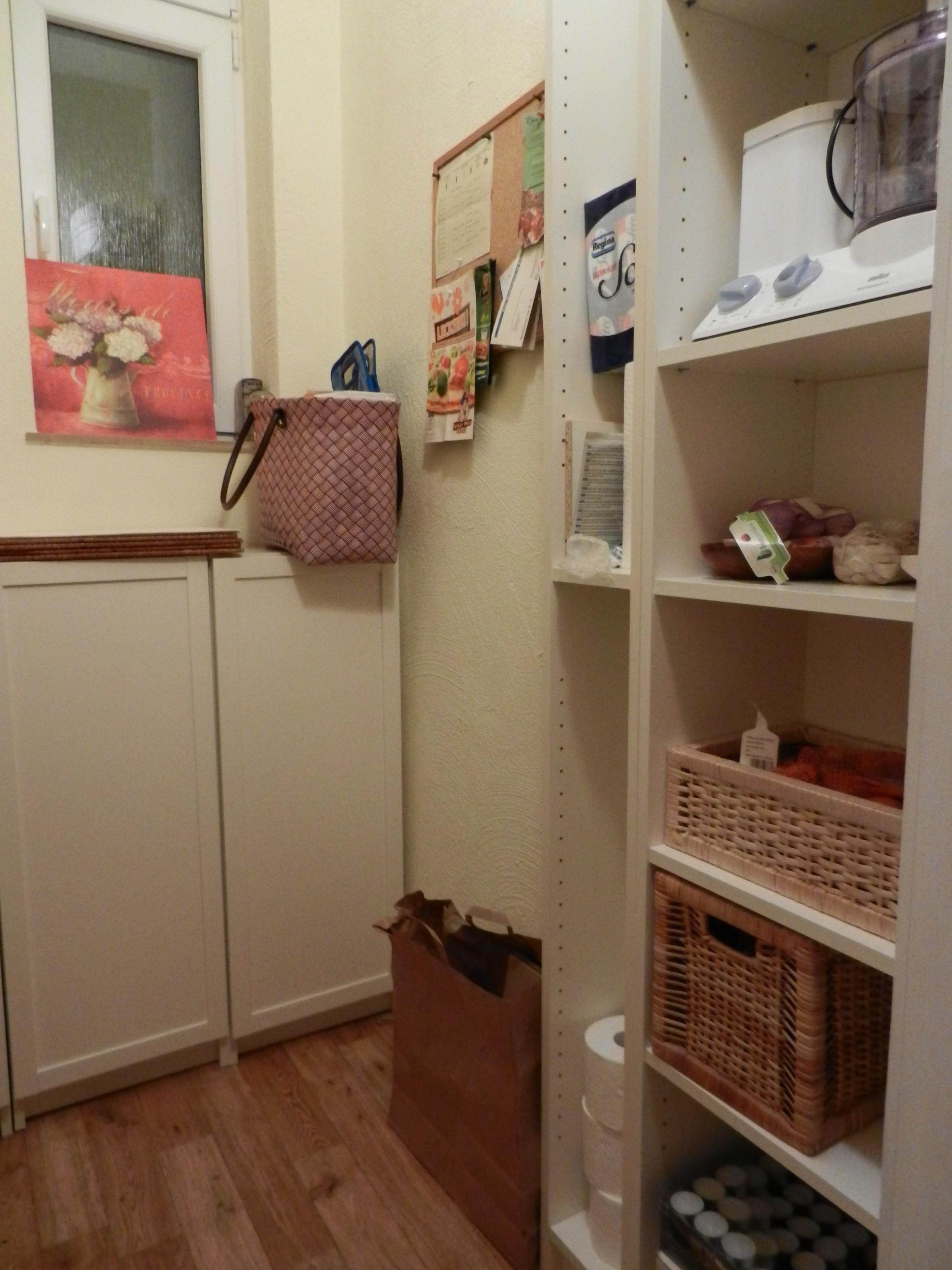 k che 39 speisekammer vorher nachher. Black Bedroom Furniture Sets. Home Design Ideas