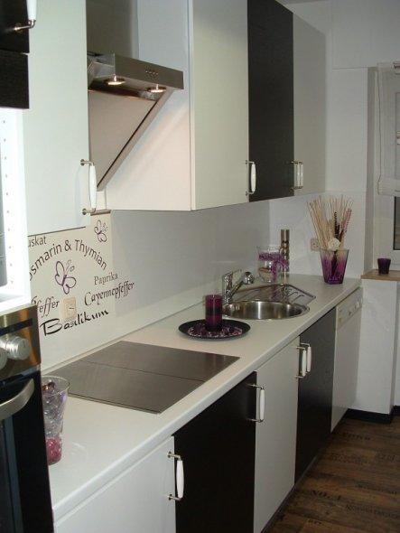 Ansicht vom Flur.  Linke Seite der Küche.