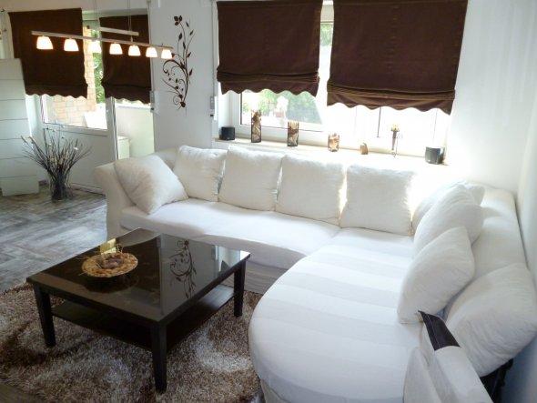 eine ander Sicht auf das Sofa.