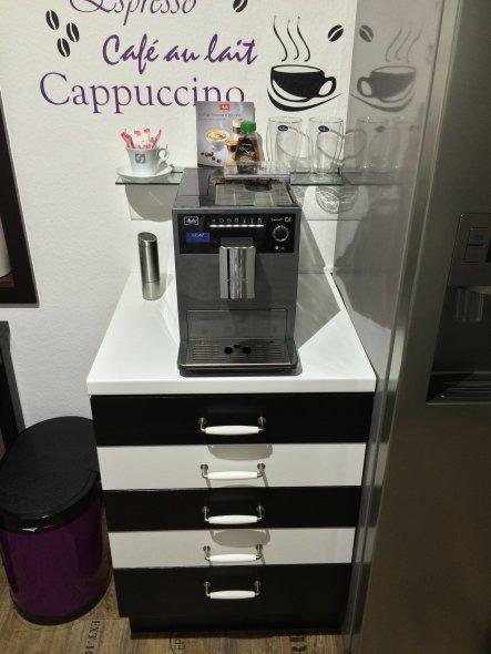 Unser neuer Kaffeevollautomat, einfach Klasse das Teil.