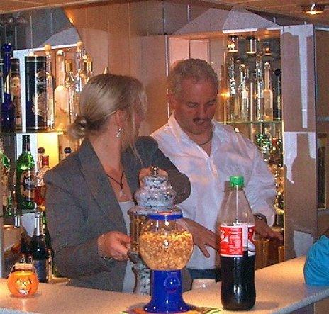 Hobbyraum 'Keller-Partyraum/Bar'