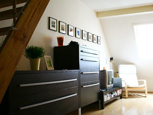fotow nde kreative wanddekoration mit bildern zimmerschau. Black Bedroom Furniture Sets. Home Design Ideas
