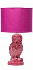 Kare Design Tischleuchte Eule - Pink