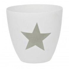 Teelichthalter Stern