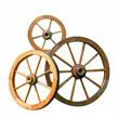 Promex Wagenrad Angers - Durchmesser: 90cm