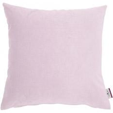 TOM TAILOR Kissenhülle �Velvet Linen Pad�, rosa