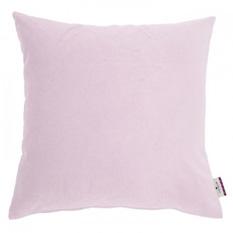 Kissenhülle Velvet Linen Pad - Webstoff - Rosa, Tom Tailor