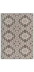 In-/Outdoorteppich Loft - Creme / Braun - 133 x 190 cm, barbara becker home passion
