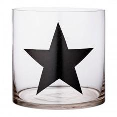 Windlicht Stern