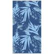TOM TAILOR Strandtuch, �Palm Tree�, mit Palmenblättern, blau