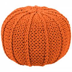 Pouf Rosita - Webstoff - Orange, Red Living